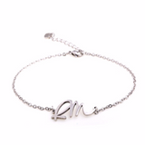 BTS Bias Name Steel Bracelet