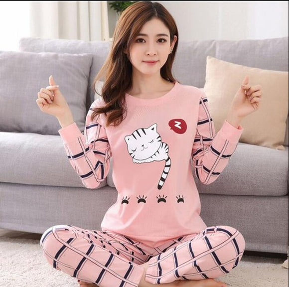 Sleeping Kitty Pajama