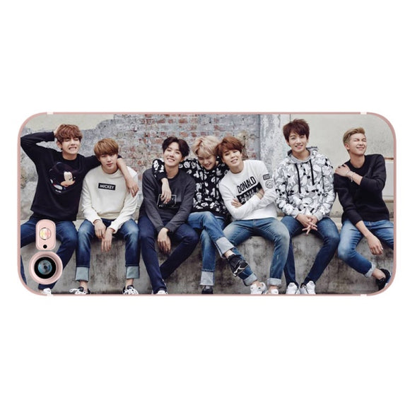 BTS Group iPhone Case