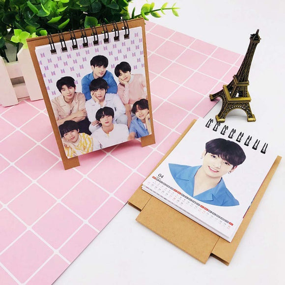BTS Love Yourself 2019 Desk Calendar