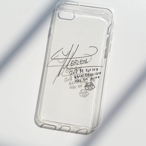 EXO Chanyeol Signature iPhone Case