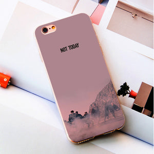 "BTS ""Not Today"" iPhone Case"