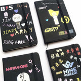 K-Pop Mini Notebook | BTS | GOT7 | TWICE