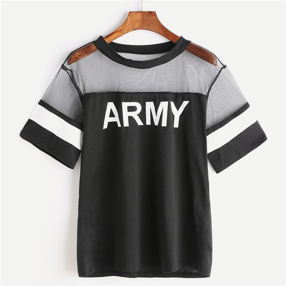 BTS Army Meshed T-Shirt