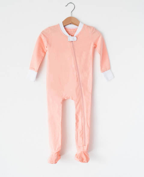 Blush - Footed Pajamas