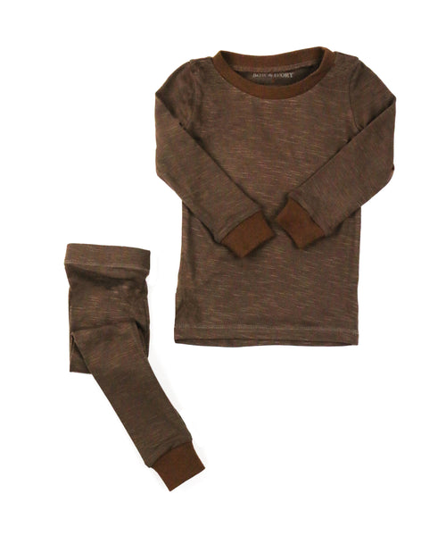 Brown - Two Piece Set