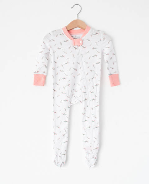 Peachy - Footed Pajamas