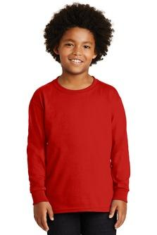G2400B - Gildan Youth Ultra Cotton Long Sleeve T-Shirt