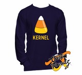 Mens Candy Corn Kernel Long Sleeve