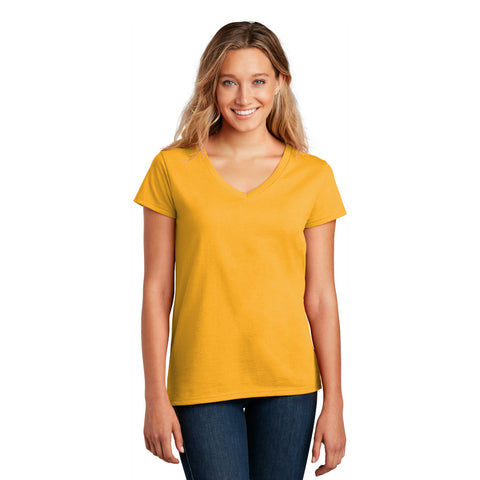 DT8001 Women's 100% Recycled Re-Tee V-Neck