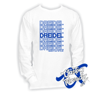 Mens Dreidel Long Sleeve