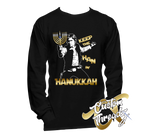 Mens Han in Hanukkah Long Sleeve
