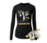 Ladies Han in Hanukkah Long Sleeve