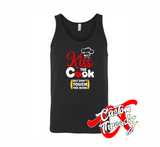Mens Kiss the Cook Tank Top