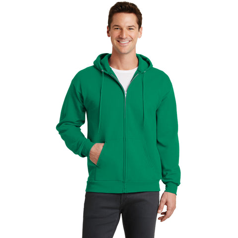 PC78ZH Core Fleece Full Zip Hooded Sweatshirt