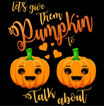 Mens Pumpkin To Talk About