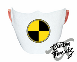 Quarantine Symbol Face Mask