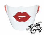 Red Lips Face Mask