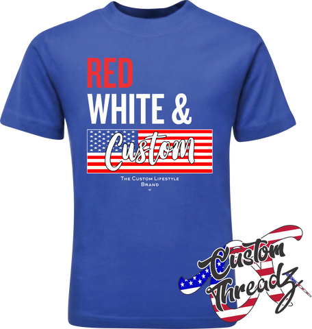 Red, White, & Custom