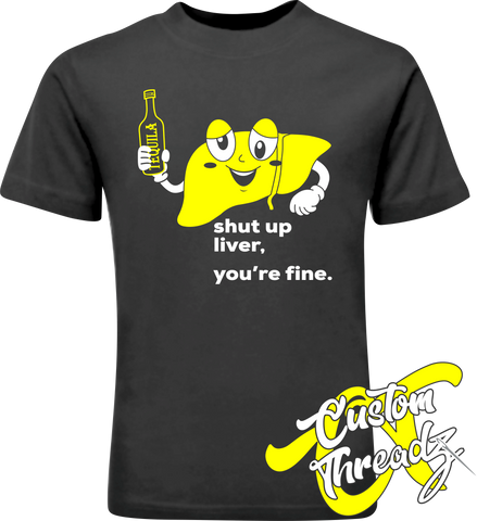 Mens Shut Up Liver