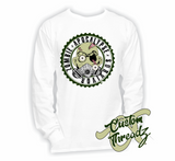 Mens Zombie Apocalypse Survivor Long Sleeve