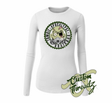 Ladies Zombie Apocalypse Survivor Long Sleeve