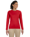 G644L - Gildan Ladies Softstyle Long Sleeve Tee