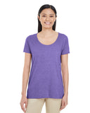 G6455L - Gildan Ladies Softstyle Deep Scoop Tee