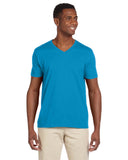 G64V - Gildan Adult Softstyle V-Neck Tee