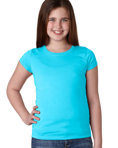 N3710 Youth Girls' Princess Tee