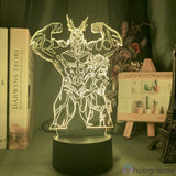 Lampe 3D - All Might | Holograbme