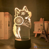 Lampe Animal Attrape Rêve Loup
