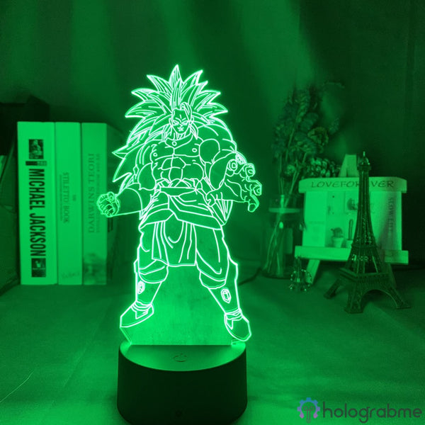 Lampe Dragon Ball Z Broly SSJ3