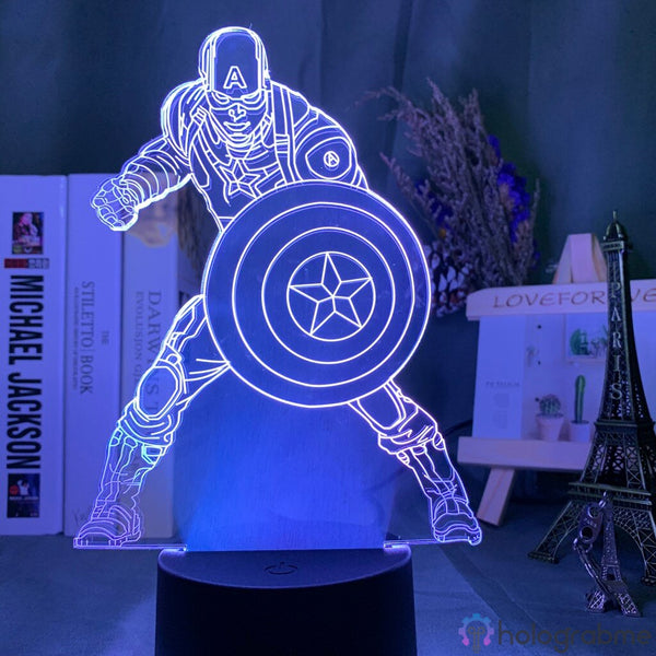 Lampe Marvel Captain America