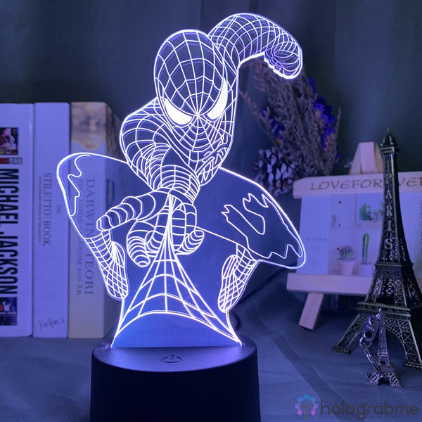Lampe Marvel Lance Toile Spiderman