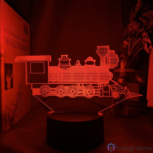 Lampe Train Locomotive