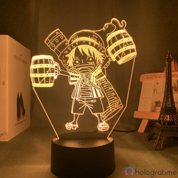 Lampe 3D - Luffy Chibi | Holograbme
