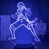 Lampe One Piece Luffy Combat