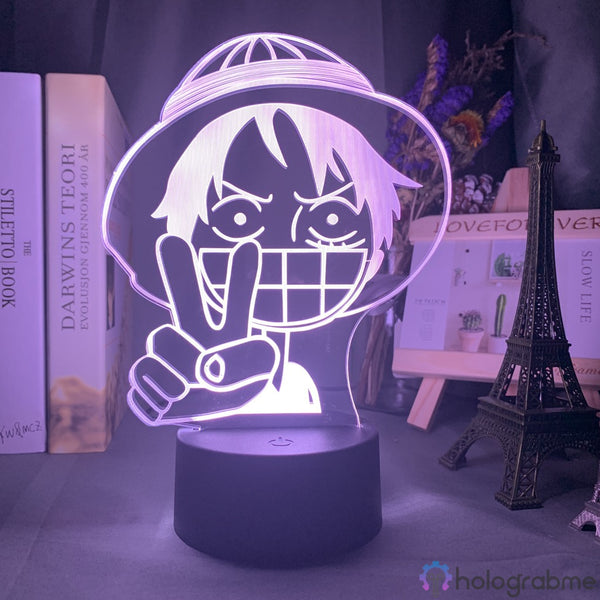 Lampe 3D - Luffy One Piece | Holograbme
