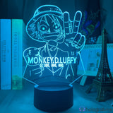 Lampe One Piece Monkey D. Luffy Prime