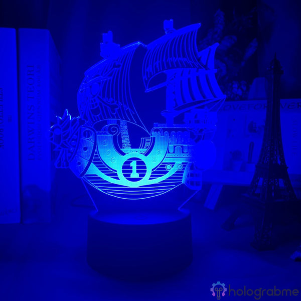 Lampe 3D - One Piece Thousand Sunny | Holograbme