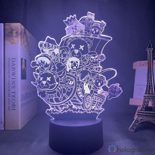 Lampe 3D - Thousand Sunny | Holograbme