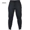 HIRIGIN Men's Joggers 2017 Brand Male Trousers Casual Pants Sweatpants Jogger Black Casual Elastic cotton Fitness Workout pants