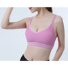 Fitness Yoga Sports Bra Yoga Push Up Sexy Womens Running Tank Top Shakeproof Underwear Exercise Yoga Vests Sportwear