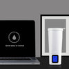 Smart stainless steel drinking glass water cups Intelligent automatic LCD time reminder Vacuum insulation water kettle 630063