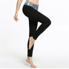 Women High Waist Sports Leggings Print Fitness Yoga Pants Seamless Workout Active Wear Elastic Waist Stretchy Trousers