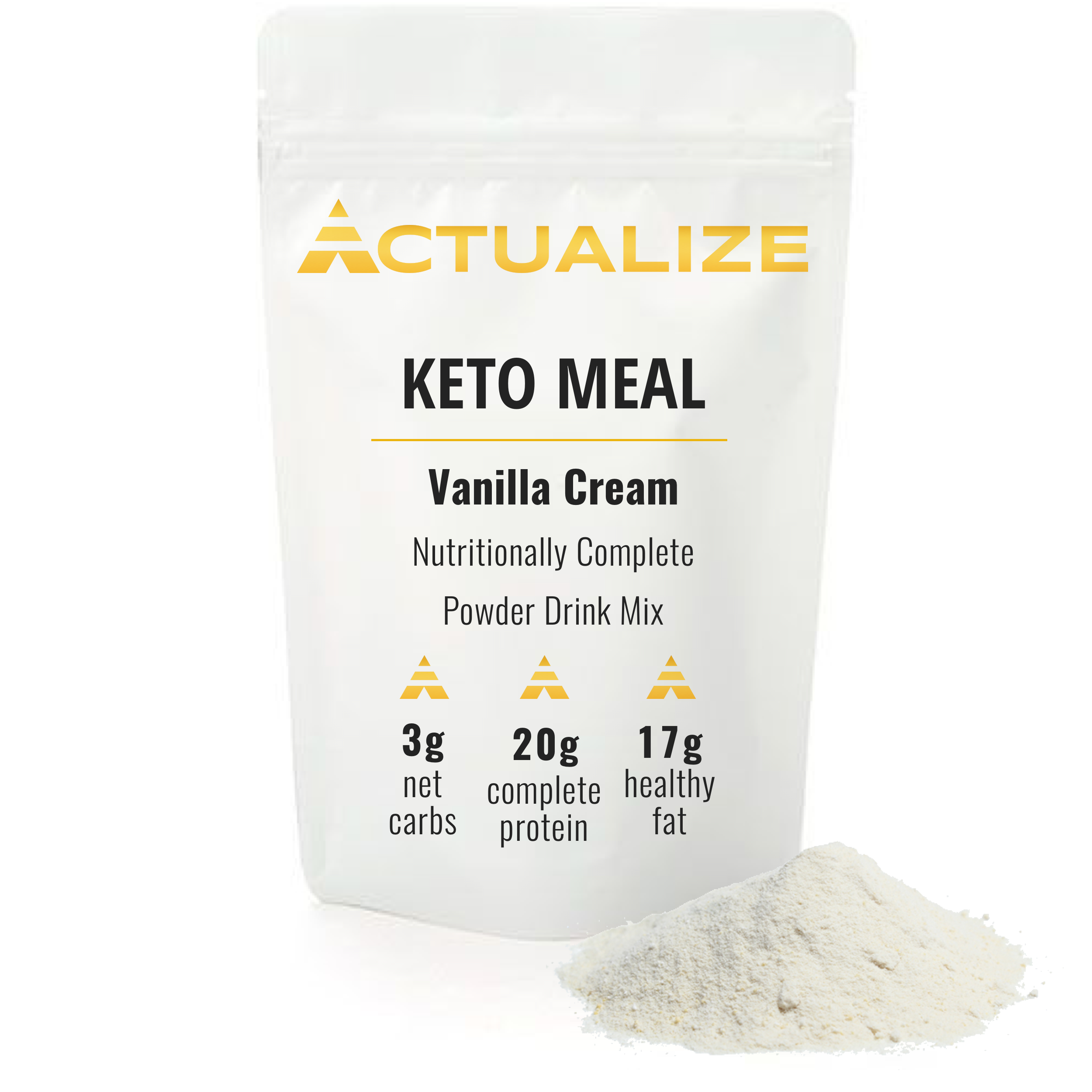 Actualize - Keto Meal V3, keto, keto meal replacement shake, keto meal replacement, best keto meal replacment