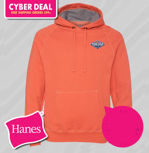 Hanes Nano Hooded Sweatshirt (KA Tiger Logo Included)