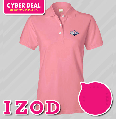 IZOD Ladies Everyday 100% Cotton Pique (KA Tiger Logo Included)