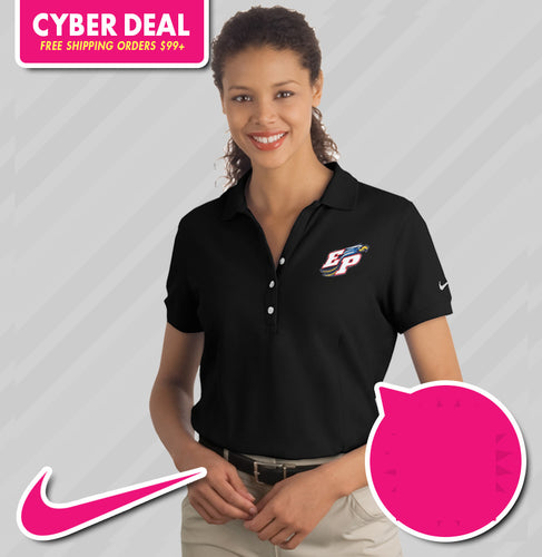 Nike Ladies Pique Player Polo (KA Tiger Logo Included)